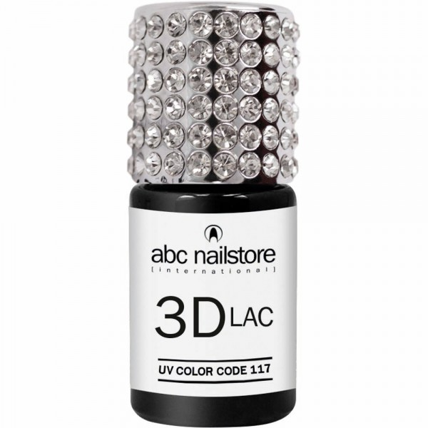 abc nailstore 3DLAC white glam #117, 8 ml