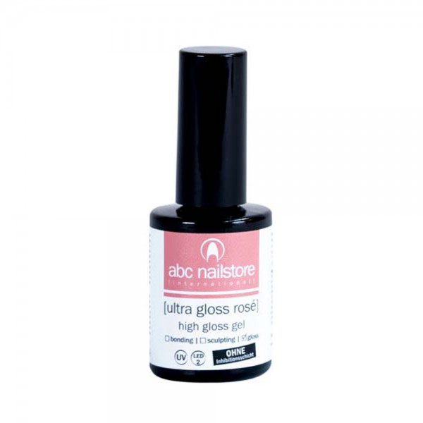 abc nailstore ultra gloss rosé, 16,5 ml