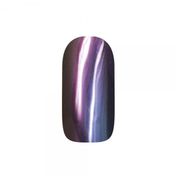 abc nailstore chrome powder flip flop: violet-orange #203, 2 g
