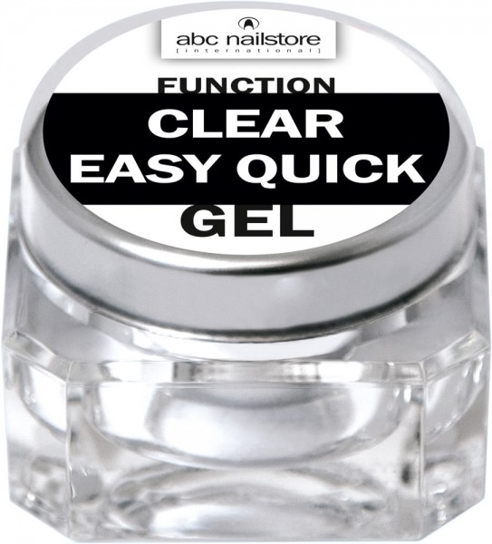 abc nailstore function clear easy quick, 15 g