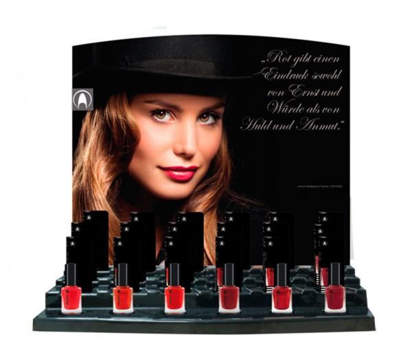 Display Lacquer pariser varieté, befüllt, 24 x 11m , über 33% Preisvorteil gegenüber