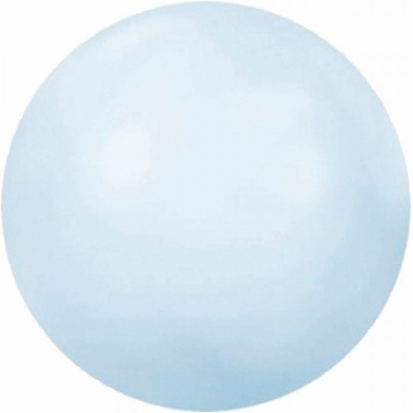 Swarovski Halbperlen SS16 Crystal Powder Blue, 50 Stück