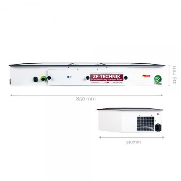 Tisch-Einbau-Absaugung Taifun II Premium Greentech
