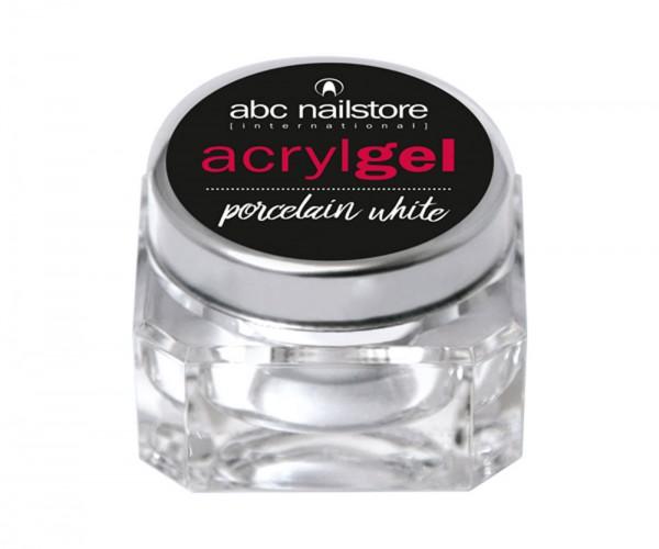abc nailstore Acrylgel porcelain white 15 g