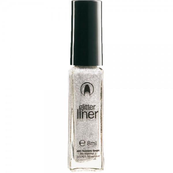 Glitterliner silver, 8 ml