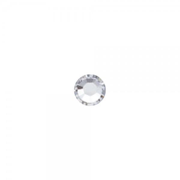 Strass-Steine SS3 crystal silver, 250 Stück