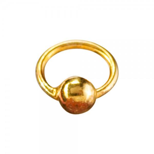 Piercingring gold/gold