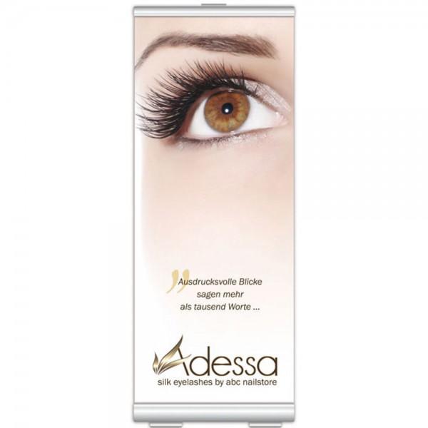 Roll-up-Display Adessa silk eyelashes