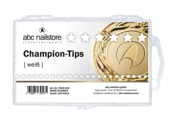 abc nailstore nail tips champion weiß, Tipbox mit 100 Stück
