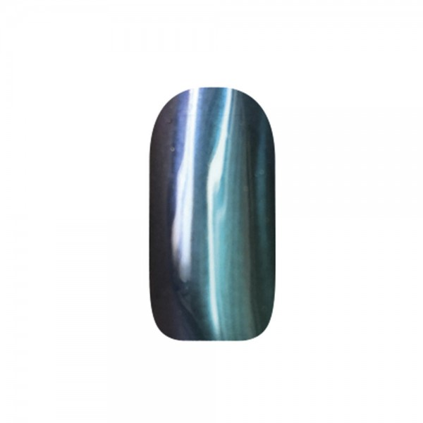 abc nailstore chrome powder flip flop: green-red #205, 2 g