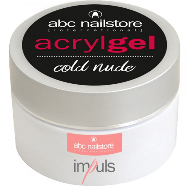 abc nailstore Acrylgel cold nude, 60 g