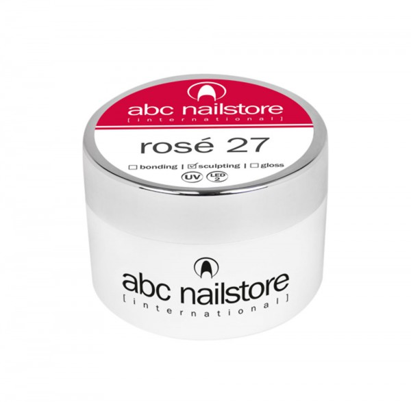 abc nailstore Modellagegel 27 rosé, 15 g