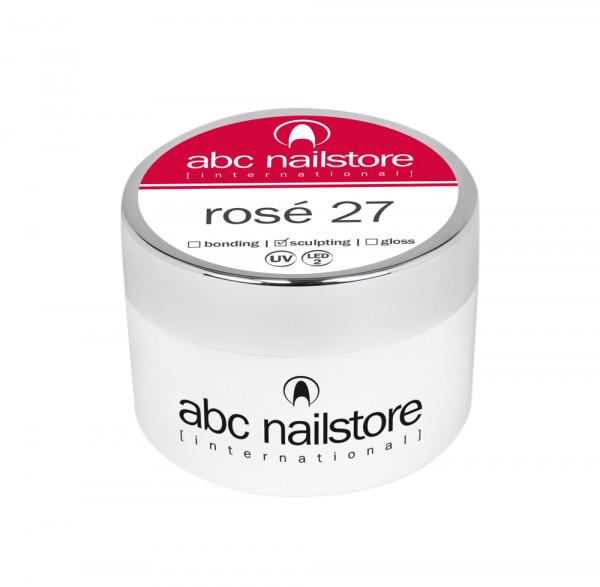 abc nailstore Modellagegel 27 rosé, 100 g