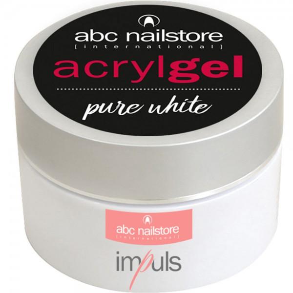 abc nailstore Acrylgel pure white, 60 g