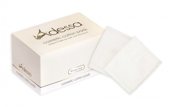 Adessa cosmetic cotton pads, 40 Stück