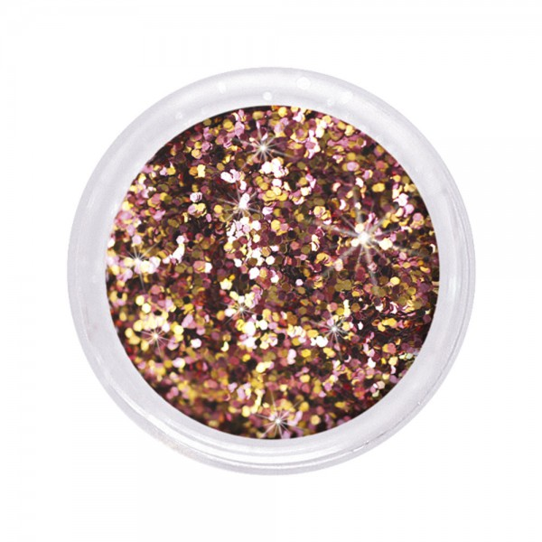 dazzling glitter 0,6 mm, golden girl #115, 6 g