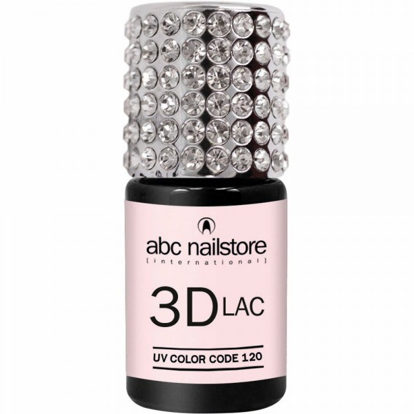 abc nailstore 3DLAC naked truth #120, 8 ml