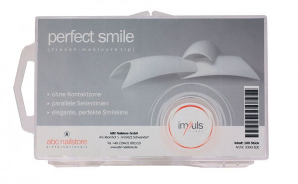 impuls perfect smile, Tipbox mit 100 Stück