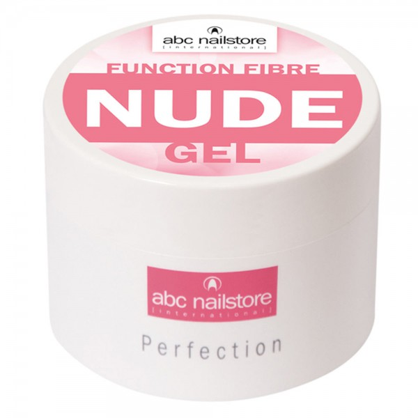 abc nailstore function fibre nude gel, 100 g