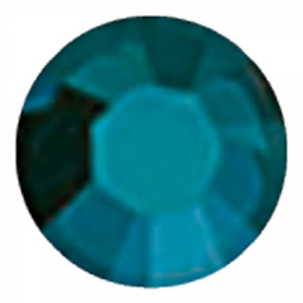 Swarovski SS5 blue zirconia satin, 100 Stück