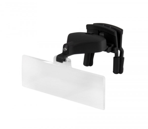 Vorsetzlupe mit LED und auswechselbaren Lupengläsern