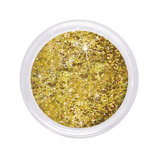 dazzling glitter 0,6 mm, multi gold #108, 6 g