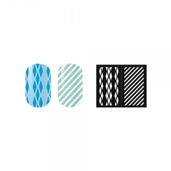 abc nailstore artist adds design stencils #108