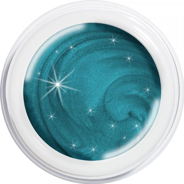 artistgel beach splash turquoise water #555, 5g
