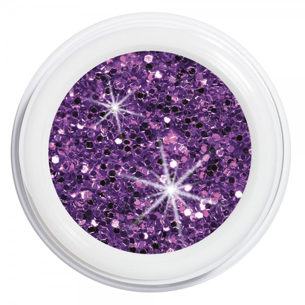 artistgel never without glitter, gamble into violet #1057, 5 g