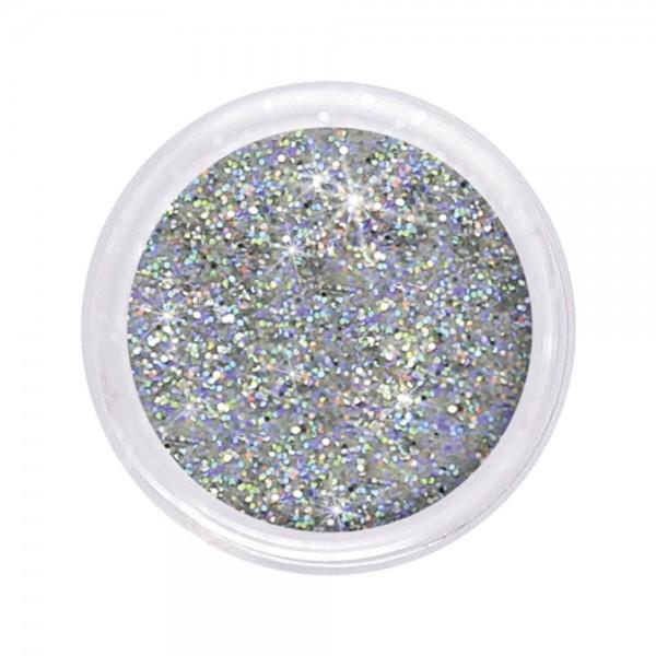 dazzling glitter 0,6 mm, multi silver #110, 6 g