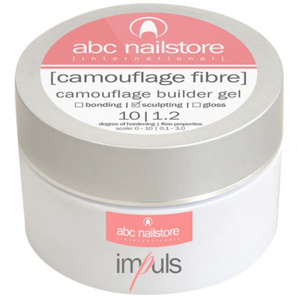 impuls camouflage fibre,camouflage builder Gel, 100g