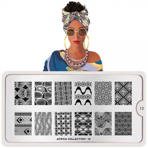 MoYou-London Schablone Africa Collection 12