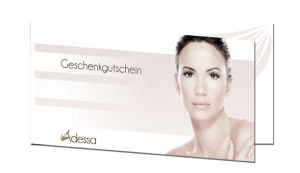 Adessa Cosmetics Klappgutscheinkarten, 100 Stück