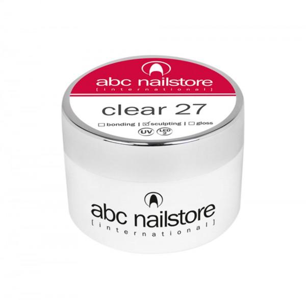 abc nailstore Modellagegel 27 clear, 15 g