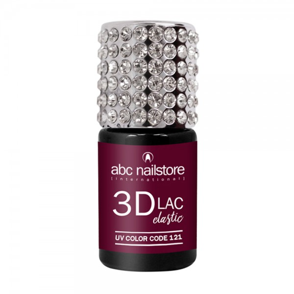 abc nailstore 3DLAC elastic berry boost #121, 8 ml