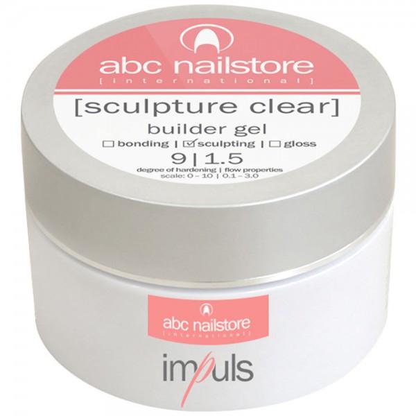 impuls sculpture clear, builder gel, 100g