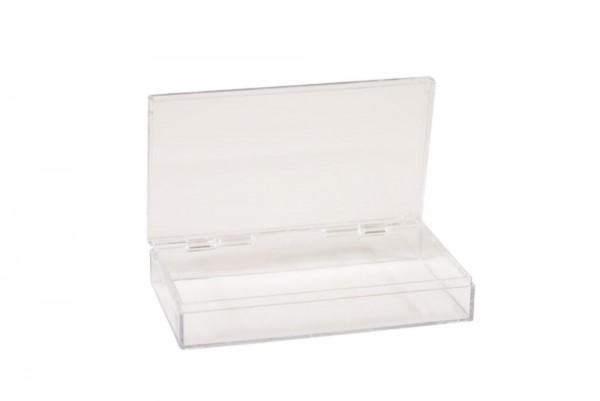 Rechteckdose transparent für Marvellous Powder und Dipping-Techniken