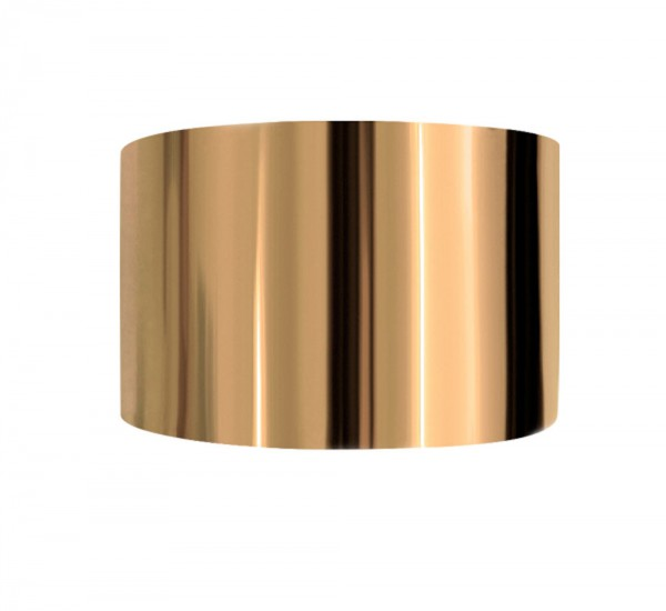 Designfoil 18K Gold, 1x 40cm, Breite 4cm
