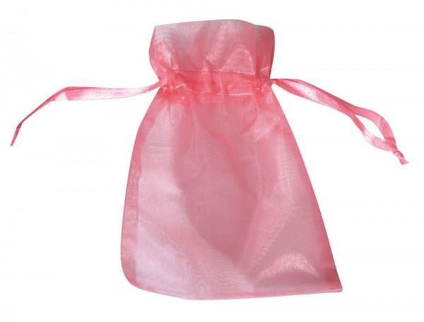 Organzasäckchen 15x10 cm, Farbe rosé