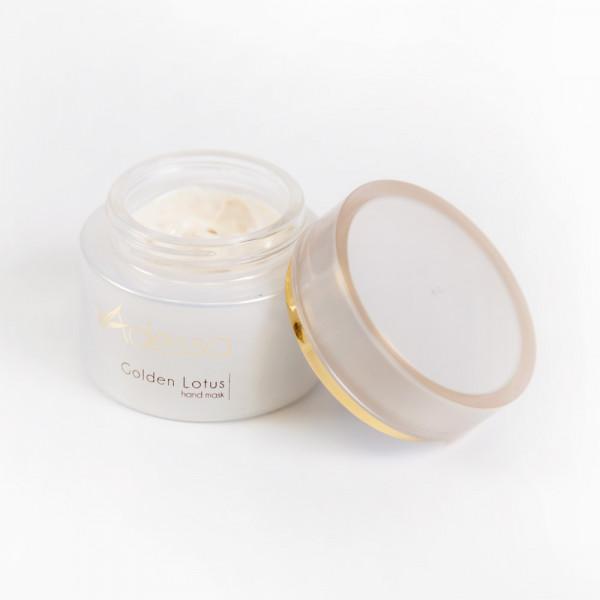 Adessa Golden Lotus hand mask, 50 ml