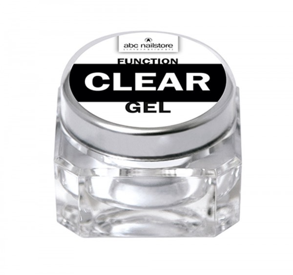 abc nailstore function clear gel, 15 g