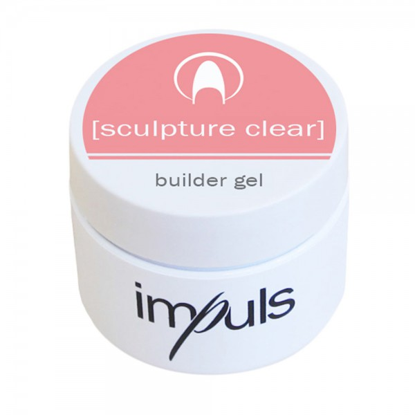 impuls sculpture clear, building gel, 5g