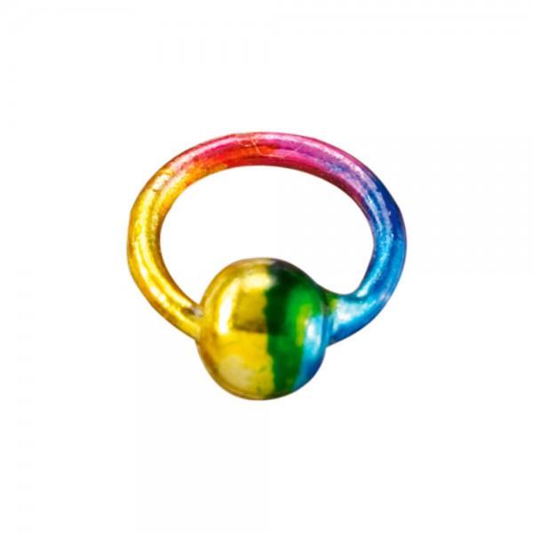 Piercingring multicolor/multicolor