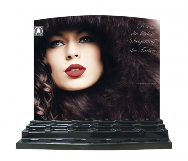 Display Lacquer burlesque, leer