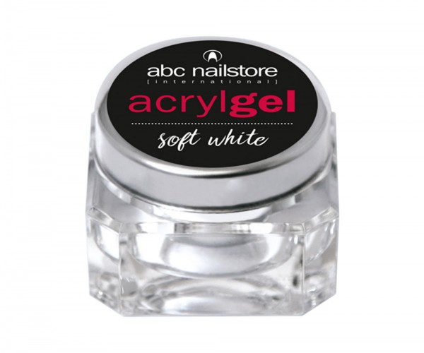 abc nailstore Acrylgel soft white, 15 g