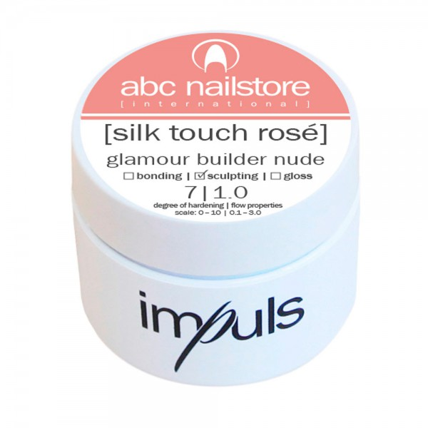 impuls silk touch rosé, glamour builder nude 5 g