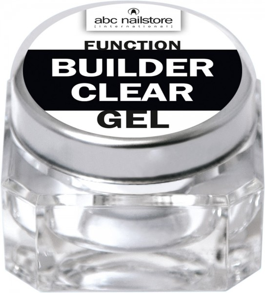 abc nailstore function builder clear, 15 g