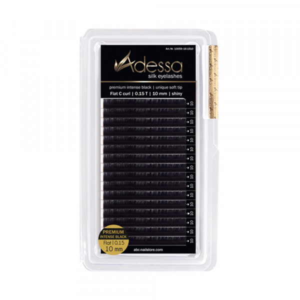 C-Curl, 0,15 Adessa Silk Lashes premium flat