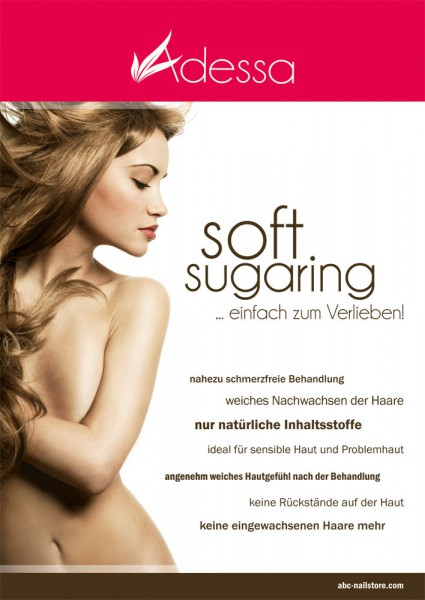 Poster Motiv Adessa soft sugaring, DIN A1