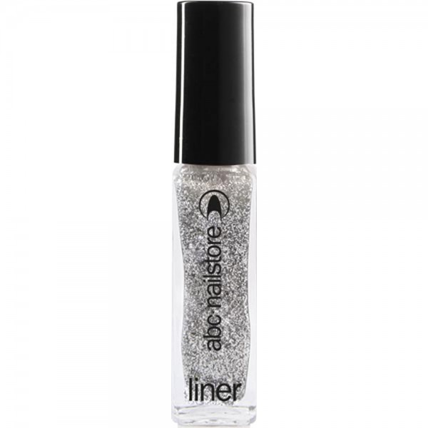 Glitterliner silver gritty, 8 ml